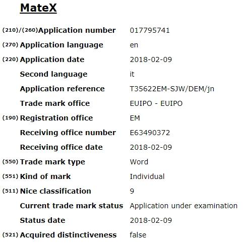 Huawei Mate X Spec Inside
